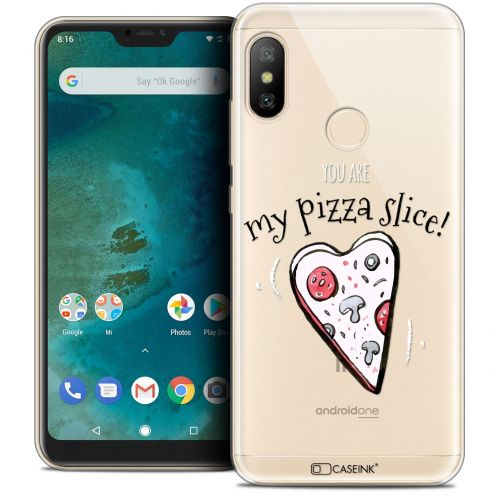 "Carcasa Crystal Gel Extra Fina Xiaomi Mi A2 LITE (5.8"") Love My Pizza Slice"