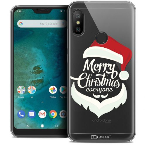 "Carcasa Crystal Gel Extra Fina Xiaomi Mi A2 LITE (5.8"") Noël 2017 Merry Everyone"