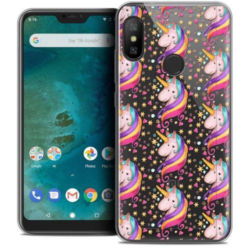 "Carcasa Crystal Gel Extra Fina Xiaomi Mi A2 LITE (5.8"") Fantasia Licorne Etoilée"