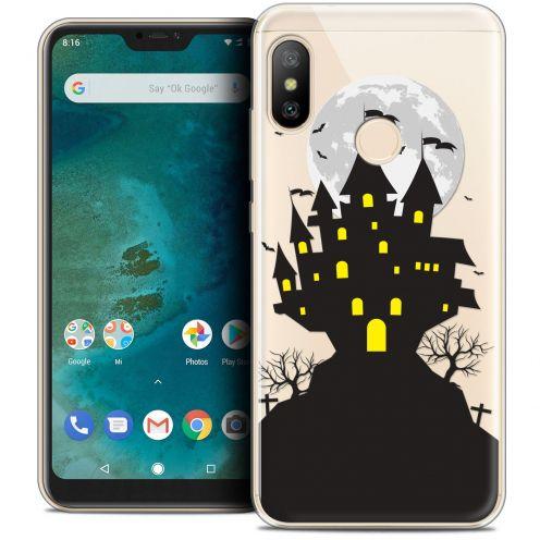 "Carcasa Crystal Gel Extra Fina Xiaomi Mi A2 LITE (5.8"") Halloween Castle Scream"