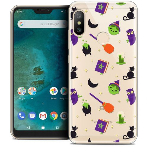 "Carcasa Crystal Gel Extra Fina Xiaomi Mi A2 LITE (5.8"") Halloween Witch Potter"