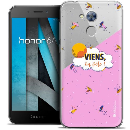 "Carcasa Crystal Gel Extra Fina Huawei Honor 6A (5"") Petits Grains® VIENS, On Vole !"