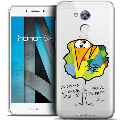 "Carcasa Crystal Gel Extra Fina Huawei Honor 6A (5"") Les Shadoks® Chaud ou Froid"