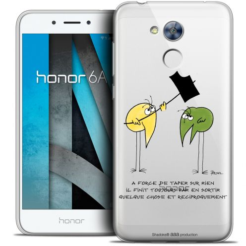 "Carcasa Crystal Gel Extra Fina Huawei Honor 6A (5"") Les Shadoks® A Force"