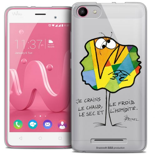 Carcasa Crystal Gel Extra Fina Wiko Jerry Les Shadoks® Chaud ou Froid