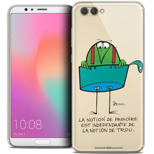 "Carcasa Crystal Gel Extra Fina Honor View 10 / V10 (6"") Les Shadoks® La Passoire"