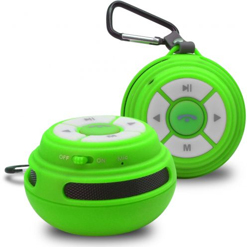 Ultimate SoundBall Altavoz Bluetooth 3W verde - Micro SD/USB/Jack connectores