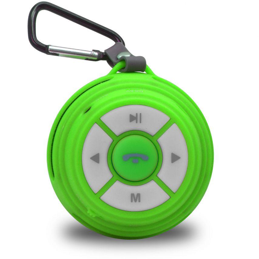 Ultimate SoundBall Altavoz Bluetooth 3W verde - Micro SD/USB/Jack connectores