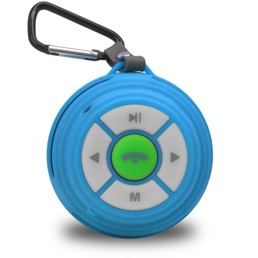 Ultimate SoundBall Altavoz Bluetooth 3W azul - Micro SD/USB/Jack connectores