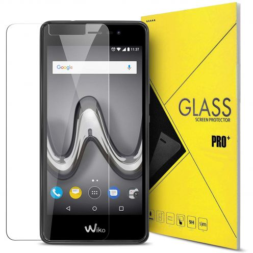 Protección de pantalla de vidrio templado Wiko Tommy 2 Glass Pro+ 9H Ultra HD 0.33mm