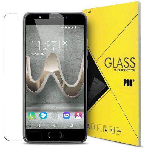 Protección de pantalla de vidrio templado Wiko U Feel PRIME Glass Pro+ 9H Ultra HD 0.33mm