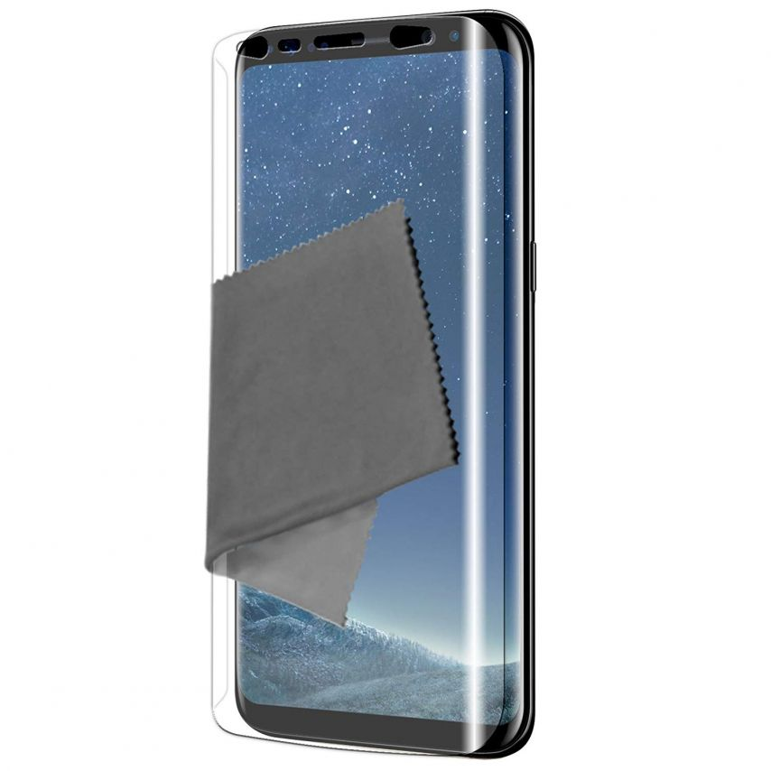 Protector De Pantalla Full Cover Samsung Galaxy S8 Clubcase® Ultra Clear X3