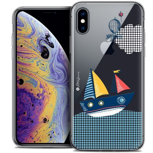 "Carcasa Crystal Gel Extra Fina Apple iPhone Xs Max (6.5"") Petits Grains® MVE Le Bateau"