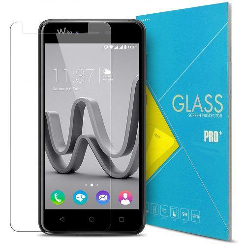 Protección de pantalla de vidrio templado Wiko Jerry MAX Glass Pro+ 9H Ultra HD 0.33mm
