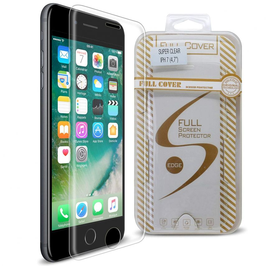 Protección de pantalla de vidrio templado Apple iPhone 7/8 (4.7) Glass Pro+ 9H Ultra HD 0.33mm