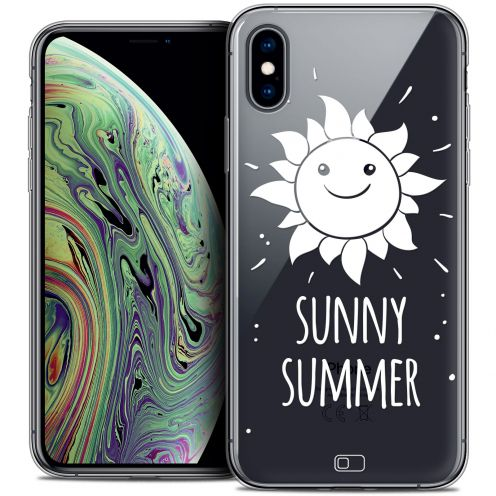 "Carcasa Crystal Gel Extra Fina Apple iPhone Xs Max (6.5"") Summer Sunny Summer"
