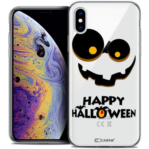 "Carcasa Crystal Gel Extra Fina Apple iPhone Xs Max (6.5"") Halloween Happy"