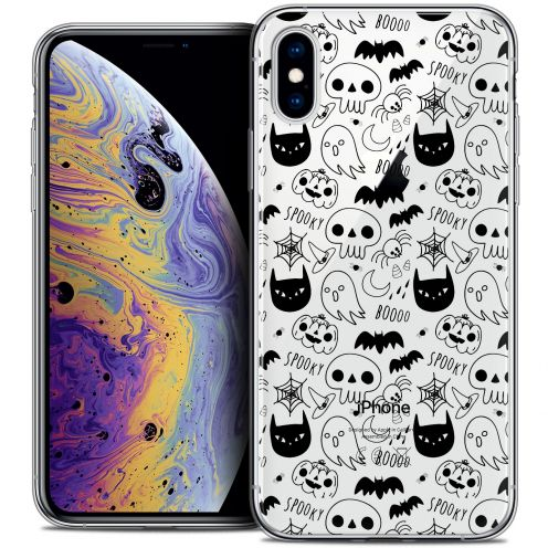 "Carcasa Crystal Gel Extra Fina Apple iPhone Xs Max (6.5"") Halloween Spooky"
