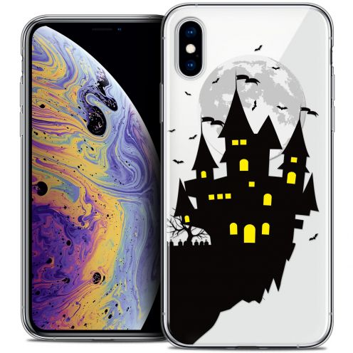 "Carcasa Crystal Gel Extra Fina Apple iPhone Xs Max (6.5"") Halloween Castle Dream"