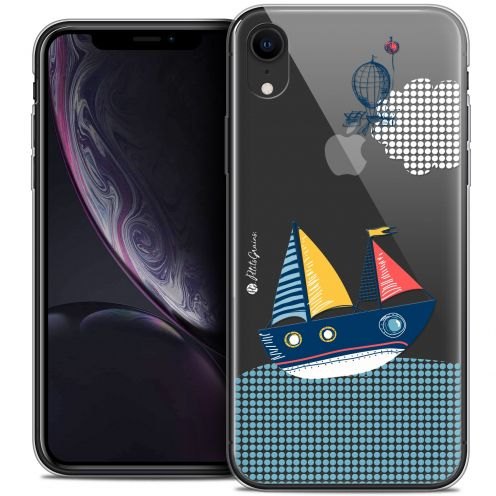 "Carcasa Crystal Gel Extra Fina Apple iPhone Xr (6.1"") Petits Grains® MVE Le Bateau"