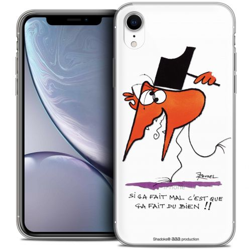 "Carcasa Crystal Gel Extra Fina Apple iPhone Xr (6.1"") Les Shadoks® Ca fait du bien !"