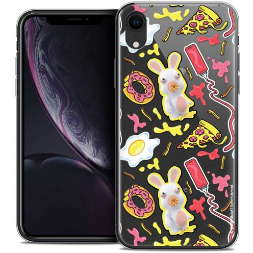"Carcasa Crystal Gel Apple iPhone Xr (6.1"") Lapins Crétins™ Egg Pattern"