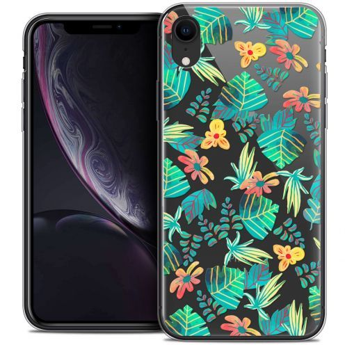 "Carcasa Crystal Gel Extra Fina Apple iPhone Xr (6.1"") Spring Tropical"