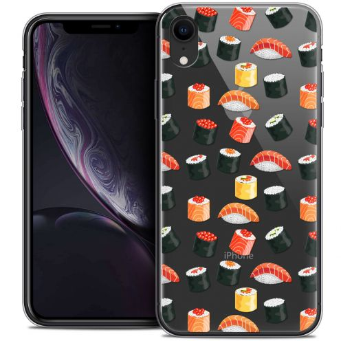 "Carcasa Crystal Gel Extra Fina Apple iPhone Xr (6.1"") Foodie Sushi"