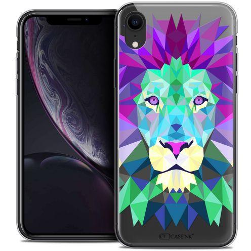 "Carcasa Crystal Gel Extra Fina Apple iPhone Xr (6.1"") Polygon Animals León"