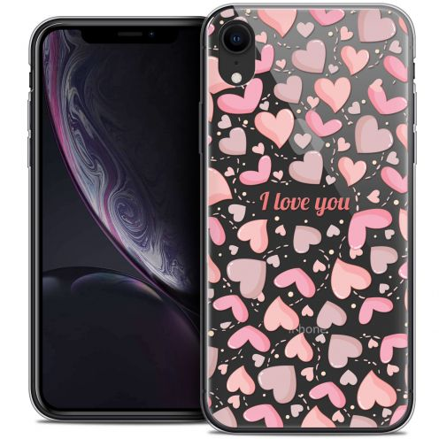 "Carcasa Crystal Gel Extra Fina Apple iPhone Xr (6.1"") Love I Love You"