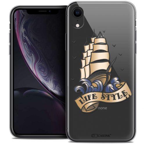 "Carcasa Crystal Gel Extra Fina Apple iPhone Xr (6.1"") Tatoo Lover Life Style"