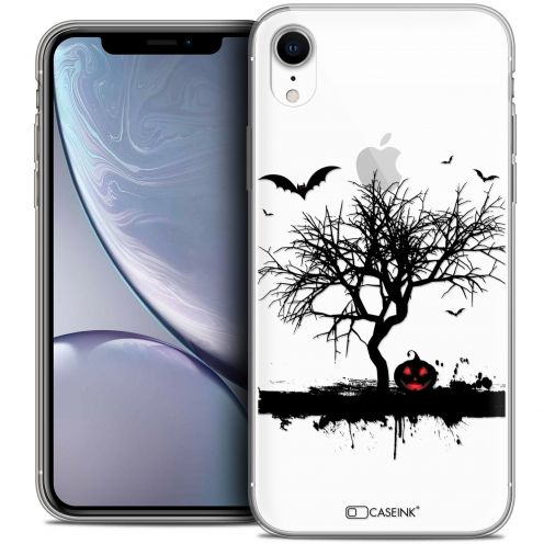 "Carcasa Crystal Gel Extra Fina Apple iPhone Xr (6.1"") Halloween Devil's Tree"