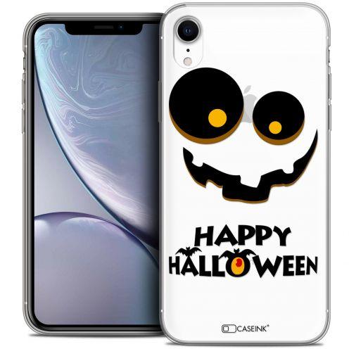 "Carcasa Crystal Gel Extra Fina Apple iPhone Xr (6.1"") Halloween Happy"