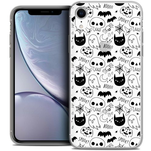 "Carcasa Crystal Gel Extra Fina Apple iPhone Xr (6.1"") Halloween Spooky"