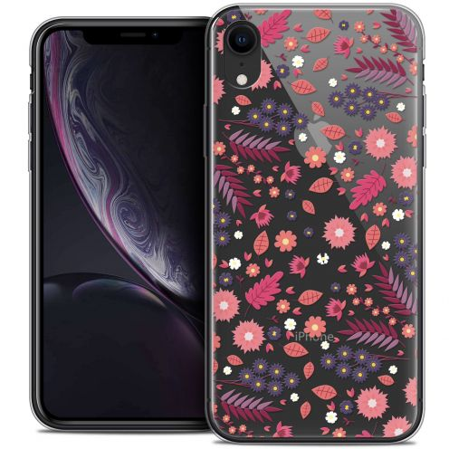 "Carcasa Crystal Gel Extra Fina Apple iPhone Xr (6.1"") Spring Printemps"
