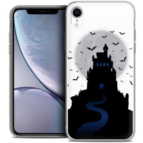 "Carcasa Crystal Gel Extra Fina Apple iPhone Xr (6.1"") Halloween Castle Nightmare"