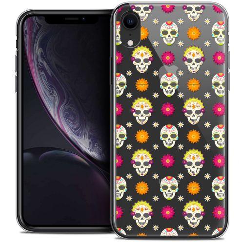 """Carcasa Crystal Gel Extra Fina Apple iPhone Xr (6.1"""") Halloween Skull Halloween"""
