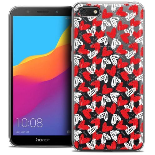 "Carcasa Crystal Gel Extra Fina Huawei Y5 2018 (5.4"") Love With Love"