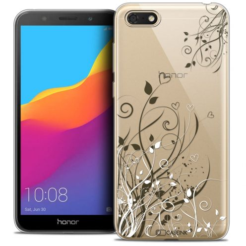 "Carcasa Crystal Gel Extra Fina Huawei Y5 2018 (5.4"") Love Hearts Flowers"