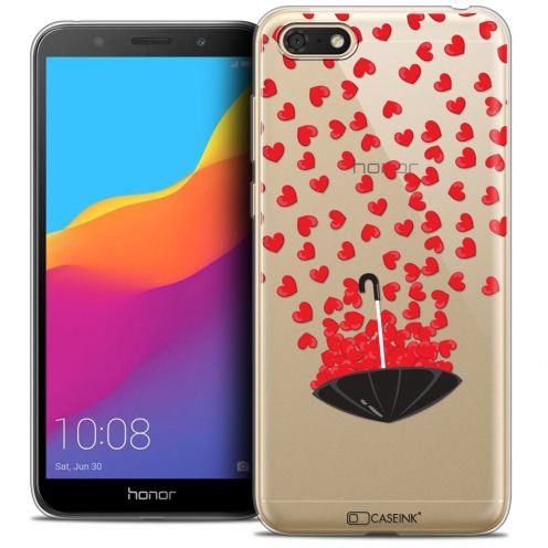 "Carcasa Crystal Gel Extra Fina Huawei Y5 2018 (5.4"") Love Parapluie d'Amour"