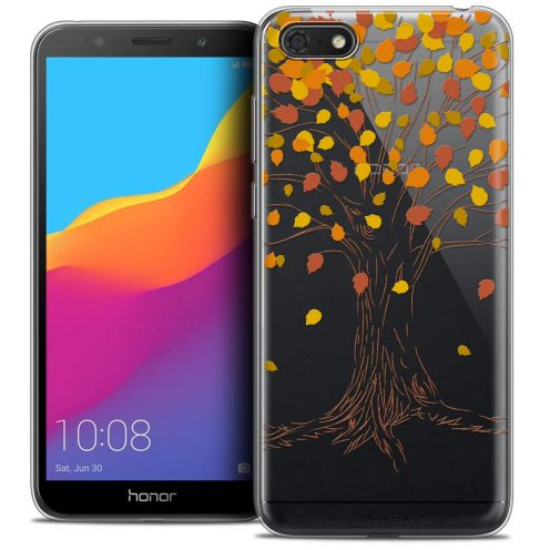"Carcasa Crystal Gel Extra Fina Huawei Y5 2018 (5.4"") Autumn 16 Tree"