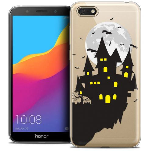 "Carcasa Crystal Gel Extra Fina Huawei Y5 2018 (5.4"") Halloween Castle Dream"