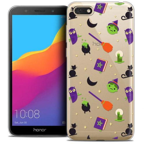 "Carcasa Crystal Gel Extra Fina Huawei Y5 2018 (5.4"") Halloween Witch Potter"