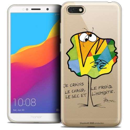 "Carcasa Crystal Gel Extra Fina Honor 7S (5.45"") Les Shadoks® Chaud ou Froid"