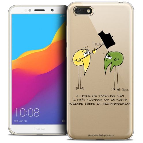 "Carcasa Crystal Gel Extra Fina Honor 7S (5.45"") Les Shadoks® A Force"