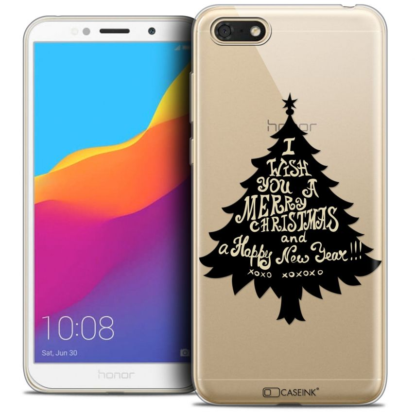 """Carcasa Crystal Gel Extra Fina Honor 7S (5.45"""") Noël 2017 XOXO Tree"""