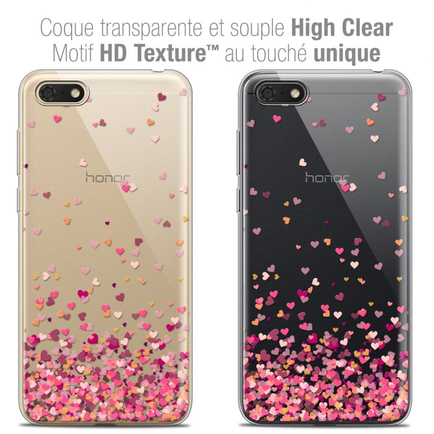 "Carcasa Crystal Gel Extra Fina Honor 7S (5.45"") Sweetie Heart Flakes"
