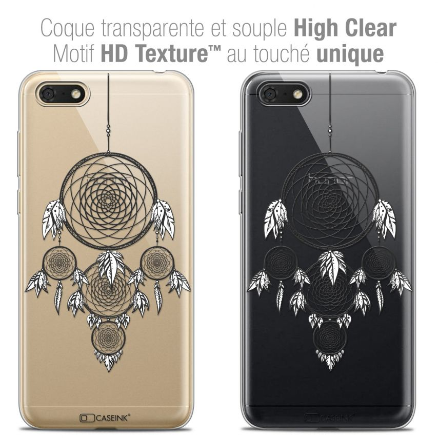"Carcasa Crystal Gel Extra Fina Honor 7S (5.45"") Dreamy Attrape Rêves NB"