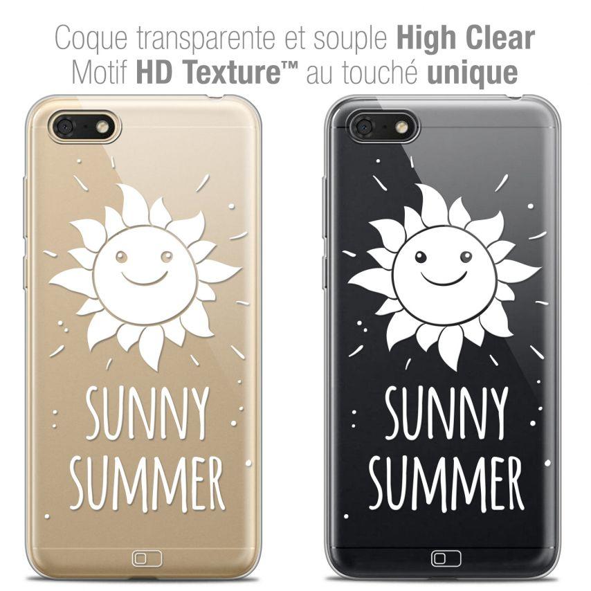 "Carcasa Crystal Gel Extra Fina Honor 7S (5.45"") Summer Sunny Summer"