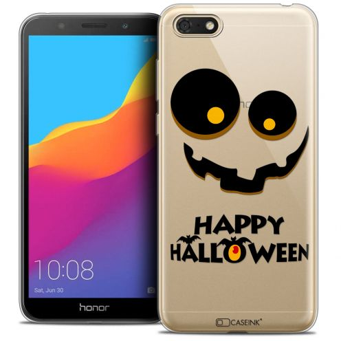"Carcasa Crystal Gel Extra Fina Honor 7S (5.45"") Halloween Happy"
